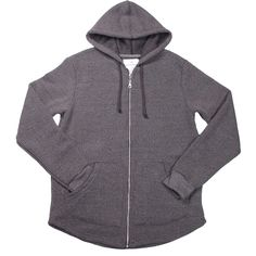Roamer Fleece Hoodie in Eco Black
