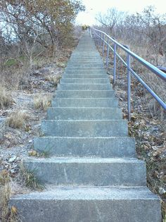 Super long stairs