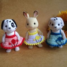 Calico Critters/ Sylvanian Families Crochet by AmigurumiByMe