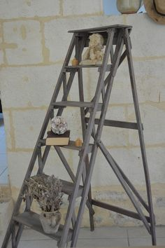 ancien escabeau bois d coration ille et vilaine chiner pinterest d coration. Black Bedroom Furniture Sets. Home Design Ideas