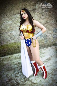 Goddess of Cosplay: Danielle Vedovelli as Wonder Woman from DC Comics (Photo by Eve Zel). @daniellevedo
