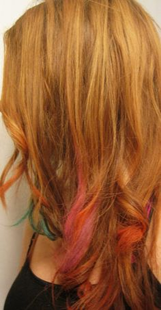 How to color your hair with pastels! Works on dark hair and washes out!