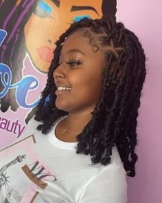 Braids Hairstyles Pictures, Faux Locs Hairstyles, Baddie Hairstyles, African Braids Hairstyles, Girl Hairstyles, Protective Hairstyles, Protective Styles, Wedding Hairstyles, Black Girl Braided Hairstyles
