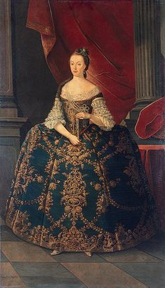 Maria I of Portugal by Antoio de Amaral,c.1768