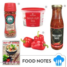 Get Shopping with OUT OF AFRICA: FEBRUARY Issue OUT NOW!  Make it hot this February with these red and spicy foodie buys picked out by The Taste Kitchen.  1. CRUSHED CHILLIES $1.69 use only the best crushed chillies in your next beef or lamb recipes or add to marinades for a feisty bite. Available at most supermarkets. 2. KEFALOS DANISH STYLE FETA a creamier and smoother variant of the Greek Style Feta cheese. Enjoy on salads spread on biscuits or stuffed red peppers. Available at most…