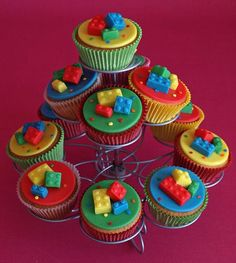LEGO Cupcakes #LegoDuploParty