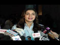 Alia Bhatt hosts a screening of movie BEAUTY & THE BEAST.