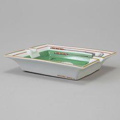 Ashtray, tableware, Hermès.