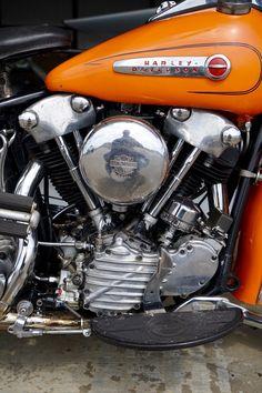 1947 Harley-Davidson FL Knucklehead | eBay #harleydavidsonstreettracker