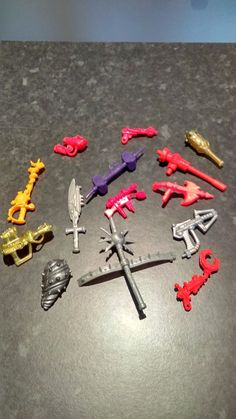 Used tmnt teenage #mutant ninja #turtles and playmates accessories & #weapons,  View more on the LINK: http://www.zeppy.io/product/gb/2/272551187787/