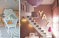 3MOMS | Three Moms Custom Design & Projects Children Rooms Ceiling Lights, Design Projects, Kids Room, Custom Design, Lighting, Bedroom, Children, Home Decor, Young Children