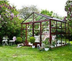 Aluminium-glas greenhouse