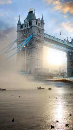 Foggy Tower bridge ~ London