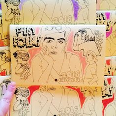 Fun Folks Zine 2016 Calendar