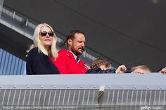 King Harald V of Norway and Queen Sonja of Norway, Princess Ingrid Alexandra of Norway, Prince Sverre Magnus of Norway, Crown Princess Mette-Marit of Norway and Crown Prince Haakon of Norway attended the FIS Nordic World Cup on March 15, 2015 in Oslo