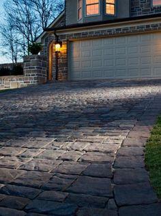23 Most Popular Modern Driveway Design Ideas for 2020 - Decorfame Modern Driveway, Driveway Design, Driveway Landscaping, Driveway Ideas, Diy Driveway, Gravel Driveway, Landscaping Ideas, Landscape Model, Landscape Design