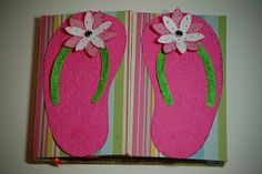 Glendie's Goodies: Flip Flops Mini Album