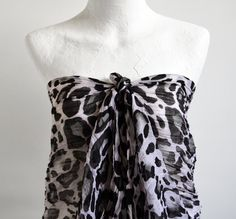 ESE Fashion Accessories Trendy Leopard Pareo by ESEHandMade, $29.00