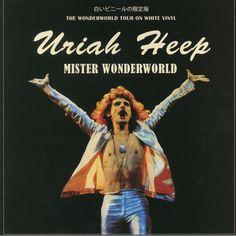 Mister Wonderworld - Ltd. Edn. (White Vinyl LP)  Coda 5060420347814 Lps, Trevor Bolder, John Wetton, Nina Hagen, Uriah, Debbie Harry, White Vinyl, Album Covers, Albums