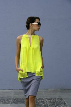 Brights in street style, Look Fashion, Fashion Outfits, Womens Fashion, Gypsy Fashion, Nail Fashion, Mode Style, Style Me, Street Style, Mode Inspiration