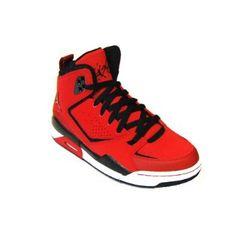 Amazon.com: Nike Air Jordan SC-2 (GS) Boys Basketball Shoes 454088-601 Varsity Red 3.5 M US: Shoes