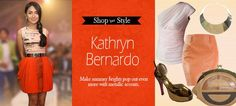 ph houses emerging fashion labels who are the cream of the crop in terms of online shopping in the Philippines today. Kathryn Bernardo, Fashion Labels, Her Style, Blush Pink, Crushes, Florence, How To Make, Shopping, Beautiful