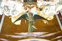 #SanRaffaeleArcangelo (1890-1895). #Affresco di #CesareMaccari collocato nella #Cupola del #SantuariodiLoreto. ❤ #SaintRaphaelArchangel. #Dome of the #SanctuaryofLoreto, #fresco by #CesareMaccari. #Archangel #messengerofGod #SaintsArchangels #Archangel #chatholicchurch #chiesacattolicaromana #Loreto #SantiArcangeli #messaggeridiDio #ArcangeloRaffaele #Arcangelo #Angeli #Marchespiritualroute #Vialauretana #camminilauretani #Loretoturismo