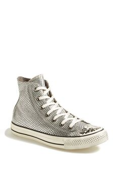 Converse Chuck Taylor® All Star® Snake Print Leather High Top Sneaker (Online Only) (Women) available at #Nordstrom