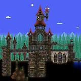 Post with 100 views. I really wish they had included surface structures in I would love to explore the ruins of some forgotten castle! Terraria, Big Ben, Video Game, Surface, Castle, Explore, Building, Projects, Travel