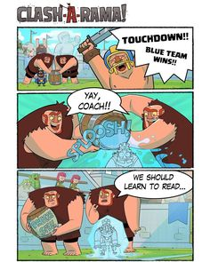 """65.7k Likes, 356 Comments - Clash Royale (@clashroyale) on Instagram: """"TOUCHDOWN!! By Clash-A-Rama!"""""""