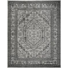 Safavieh Adirondack Silver/ Black Rug (10' x 14') | Overstock.com Shopping - Great Deals on Safavieh 7x9 - 10x14 Rugs
