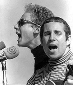 Simon and Garfunkel ... music group in the late 60's ... Bridge Over Troubled Water is still my fav!