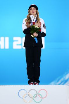 Ridiculously Photogenic Gold Medalist Cries During Her National Anthem