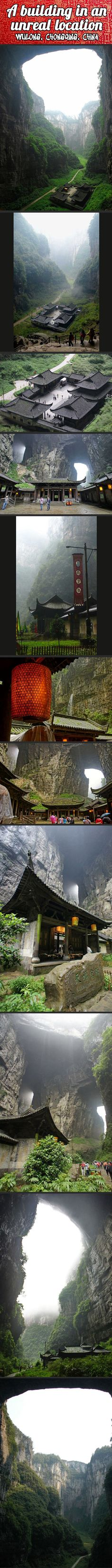 Unreal location in China…