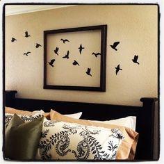 Oiseaux sur un mur - birds on a wall