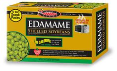 Move over baby carrots. These single serve edamame packs have only 90 cals plus plenty of filling fiber and protein