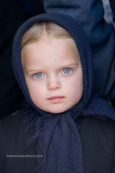 Faces of America - Amish girl