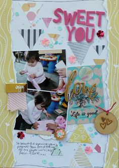 Using Up Scraps (April Hip Kit) - Melissa Vining