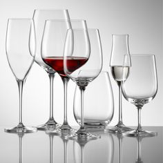 I'm a huge fan of Reidel wine glasses...So beautiful, clean and elegant looking.