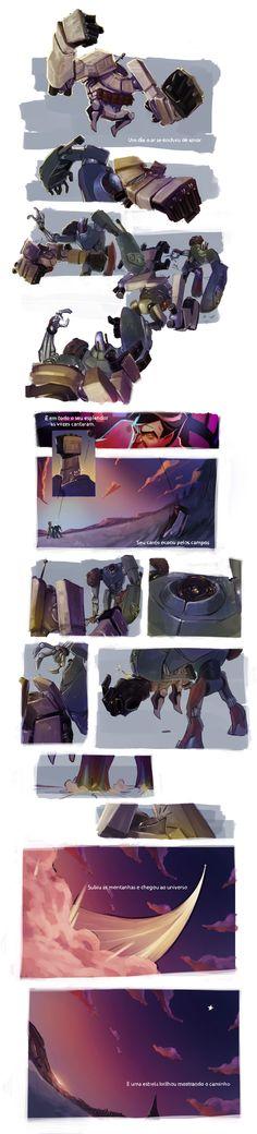 Tods estão surdos by Sérgio Saleiro | Cartoon | 2D | CGSociety