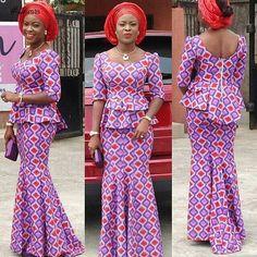 Beautiful Ankara Skirt and Blouse Style . Beautiful Ankara Skirt and Blouse Style Ankara Skirt And Blouse, Ankara Dress Styles, Latest Ankara Styles, African Print Dresses, African Dress, Ankara Tops, Blouse Styles, African Fashion Ankara, African Print Fashion