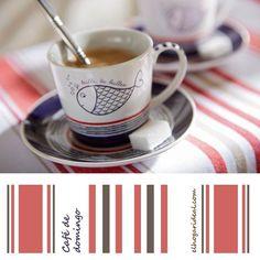 Café de domingo en El Hogar Ideal. http://elhogarideal.com/es/35-vajillas-y-menaje