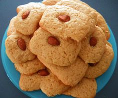 GATEAU GAGA - Love cakes: Sablés aux amandes