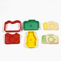 Camera cookie cutters.