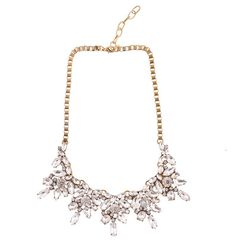 TEARDROP RHINESTONE NECKLACE Reference:  A15051011