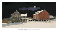 From Meeting House Road  Art Print  by Peter Sculthorpe