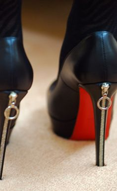 Louboutins. One fine day when I have my big girl career, I will be buying a pair of these and a pair of Kate Spade bow heels.