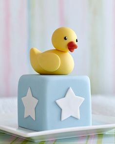 The Cake Parlour designs and creates beautiful celebration cakes for birthdays, christenings and other special occasions. Baby Boy Cakes, Cakes For Boys, Baby Shower Cakes, First Birthday Cakes, Baby Birthday, Christening Cake Boy, Duck Cake, Novelty Cakes, Occasion Cakes