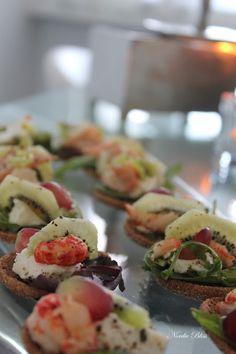 Klara Vappen! Kiwi & shrimps. Kiwi, Heavenly, Sushi, Shrimp, Drink, Cooking, Ethnic Recipes, Sweet, Inspiration
