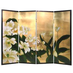 Add a chic touch of style to your home with this eye-catching design, artfully crafted for lasting appeal. Product: Room divider